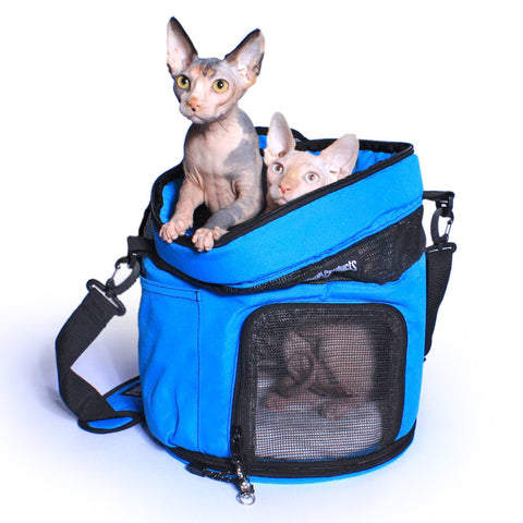 SturdiTote™ Pet Carrier - Blue Jay - Sturdi Products - 3