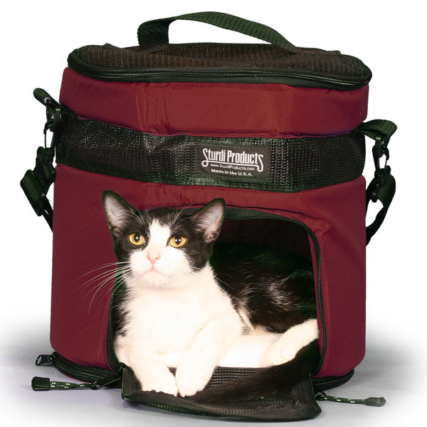 SturdiTote™ Pet Carrier - Bordeaux - Sturdi Products - 14