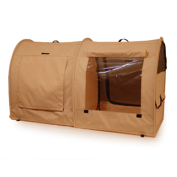 Pop-Up Kennel - Medium, Double, Euro Back