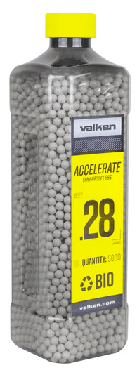 Valken ACCELERATE 0.28g BIO-5000ct-White