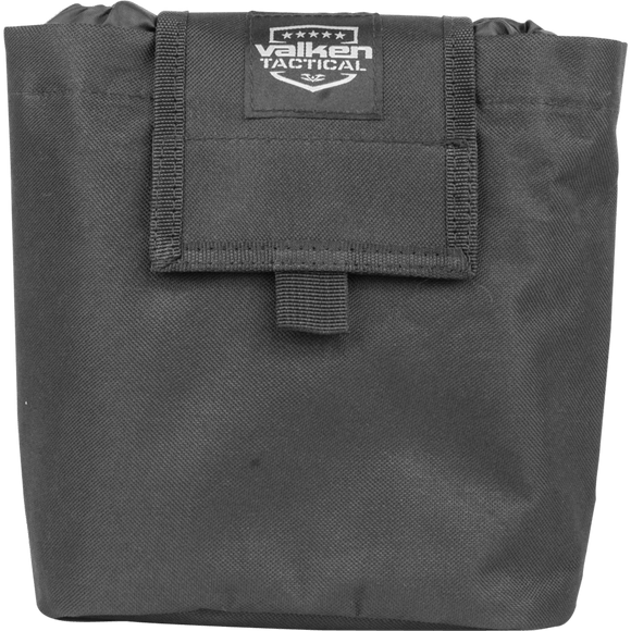 V Tactical Folding Dump Pouch- Black