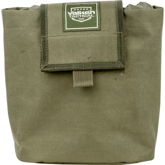 V Tactical Folding Dump Pouch- Olive