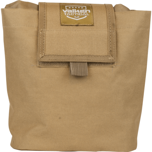 V Tactical Folding Dump Pouch- Tan