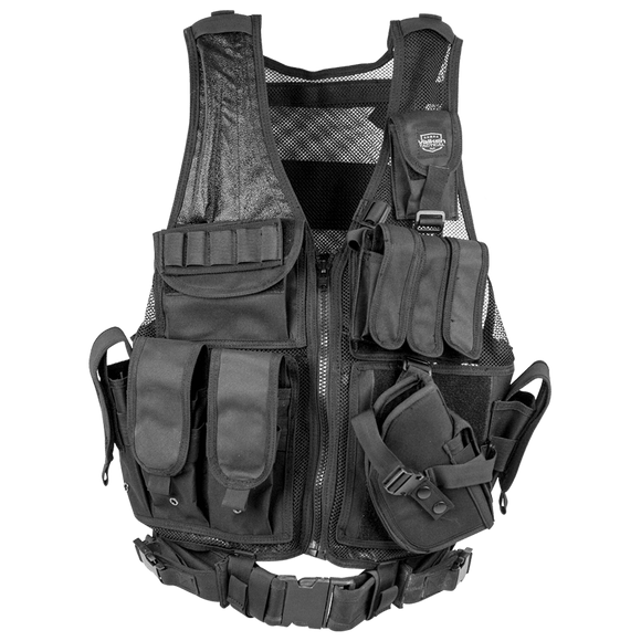 Valken Cross Draw Vest (Adult)- Black
