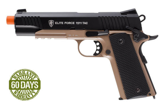 Elite Force 1911 A1 TAC- Desert/Black