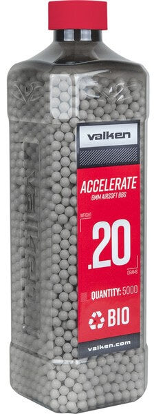 Valken Accelerate - 0.20G Bio-5000CT-White