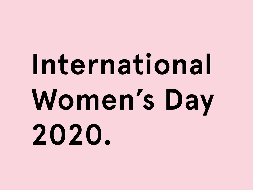 International Women's Day 2020.