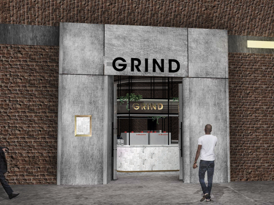 Grind to Open at London Bridge Station.