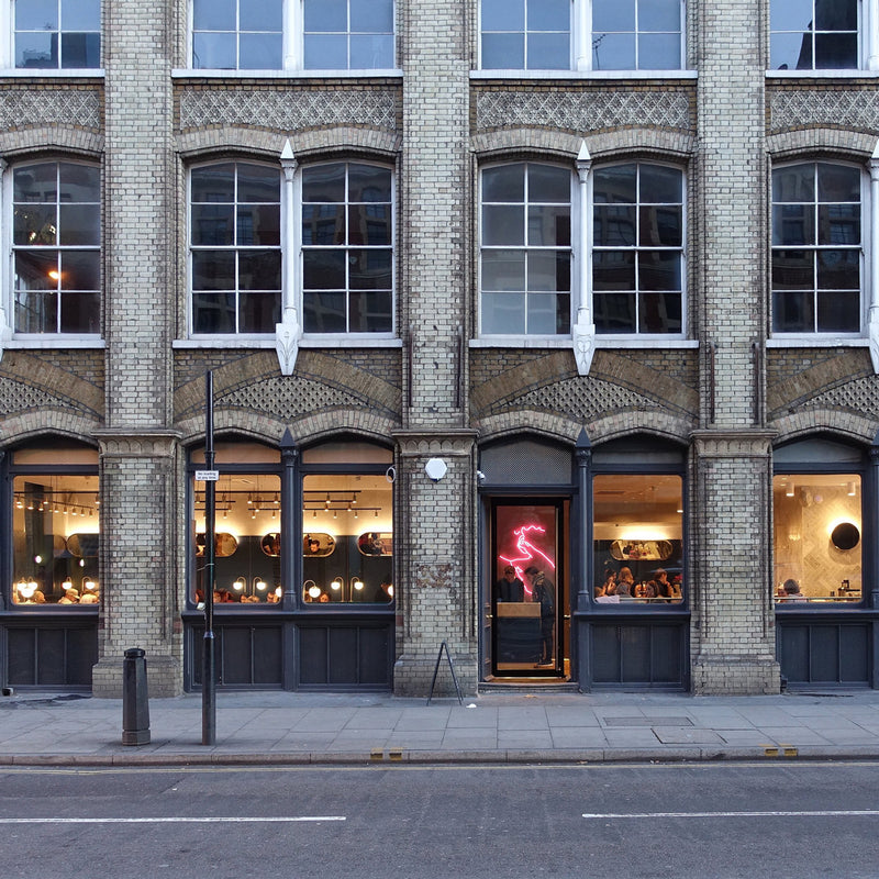 Clerkenwell Grind restaurant from street view