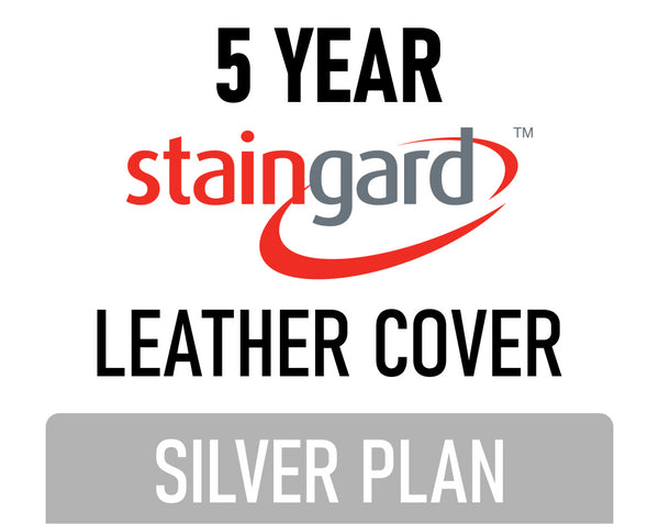 5 Year Stain & Accidental Damage Cover - Leather - Silver