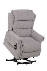 Lincoln Standard - Riser Recliner Mobility Lift Chair In Soft Wheat Fabric Clearance