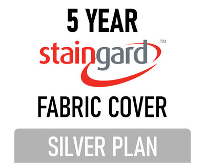 5 Year Stain & Accidental Damage Cover - Fabric - Silver
