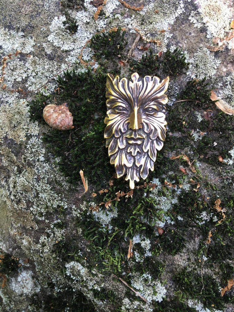 Green Man Pendant