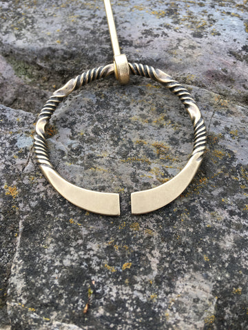forged shawl pin