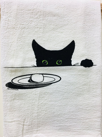 Max and Moon Cake Tea Towel