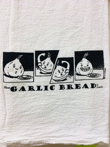 Garlic Bread Tea Towel