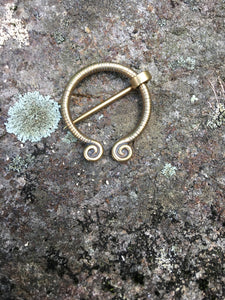 Viking Penannular Shawl Pin