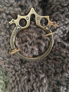 Dragonesque Shawl Pin