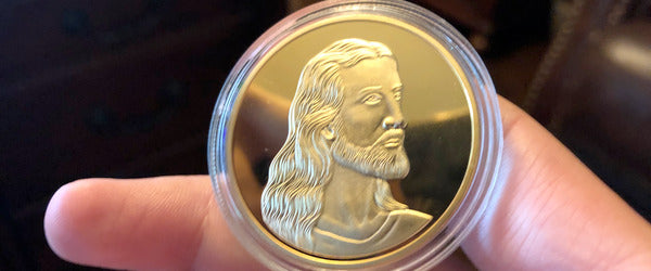 Product Focus: The Rare Golden Jesus Last Supper Coin