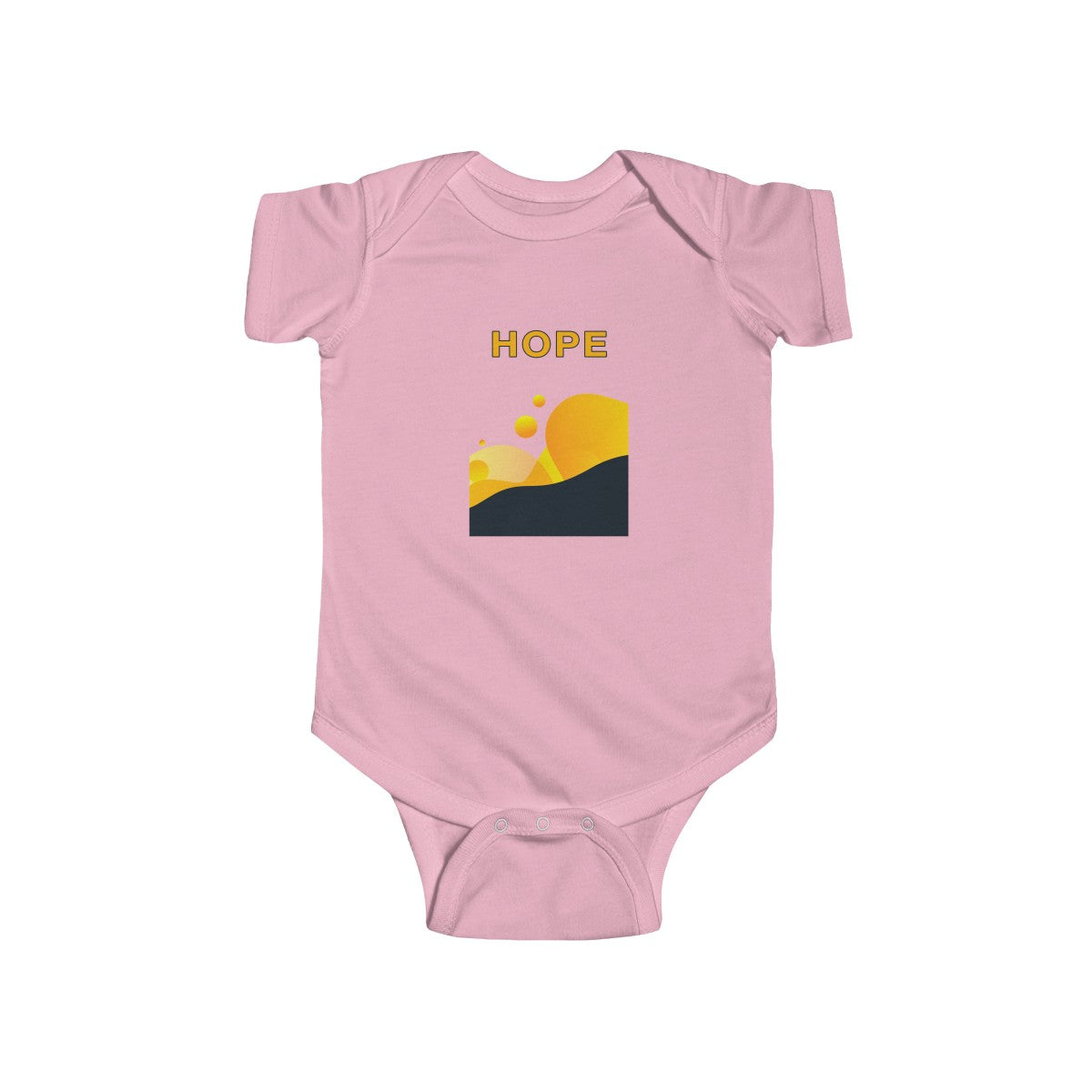 Hope Abstract Infant Fine Jersey Bodysuit