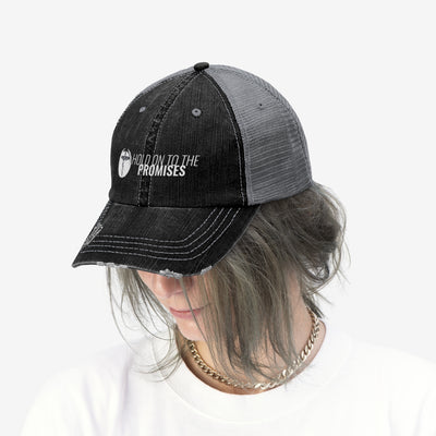 Hold on to the Promises Unisex Trucker Hat