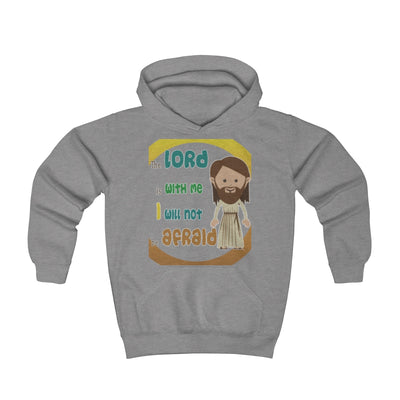 The Lord Is With Me Youth Hoodie