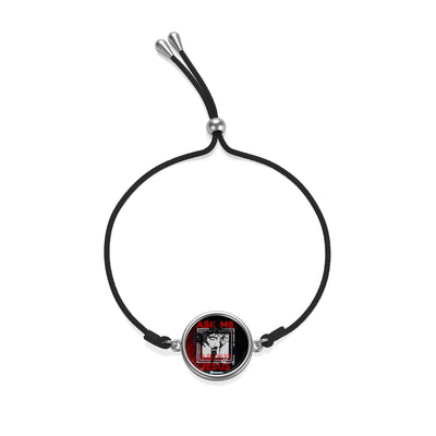 Cord Bracelet - Ask Me About Jesus