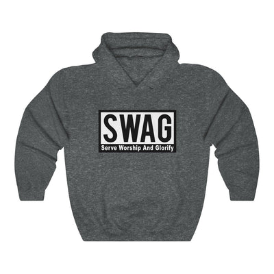 Unisex Heavy Blend™ Hooded Sweatshirt - Serve Worship And Glorify