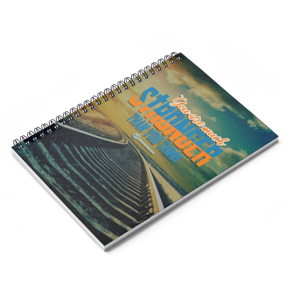 You Are Stronger Spiral Notebook - Ruled Line