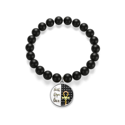 Corinthians Faith Hope Love Bracelet