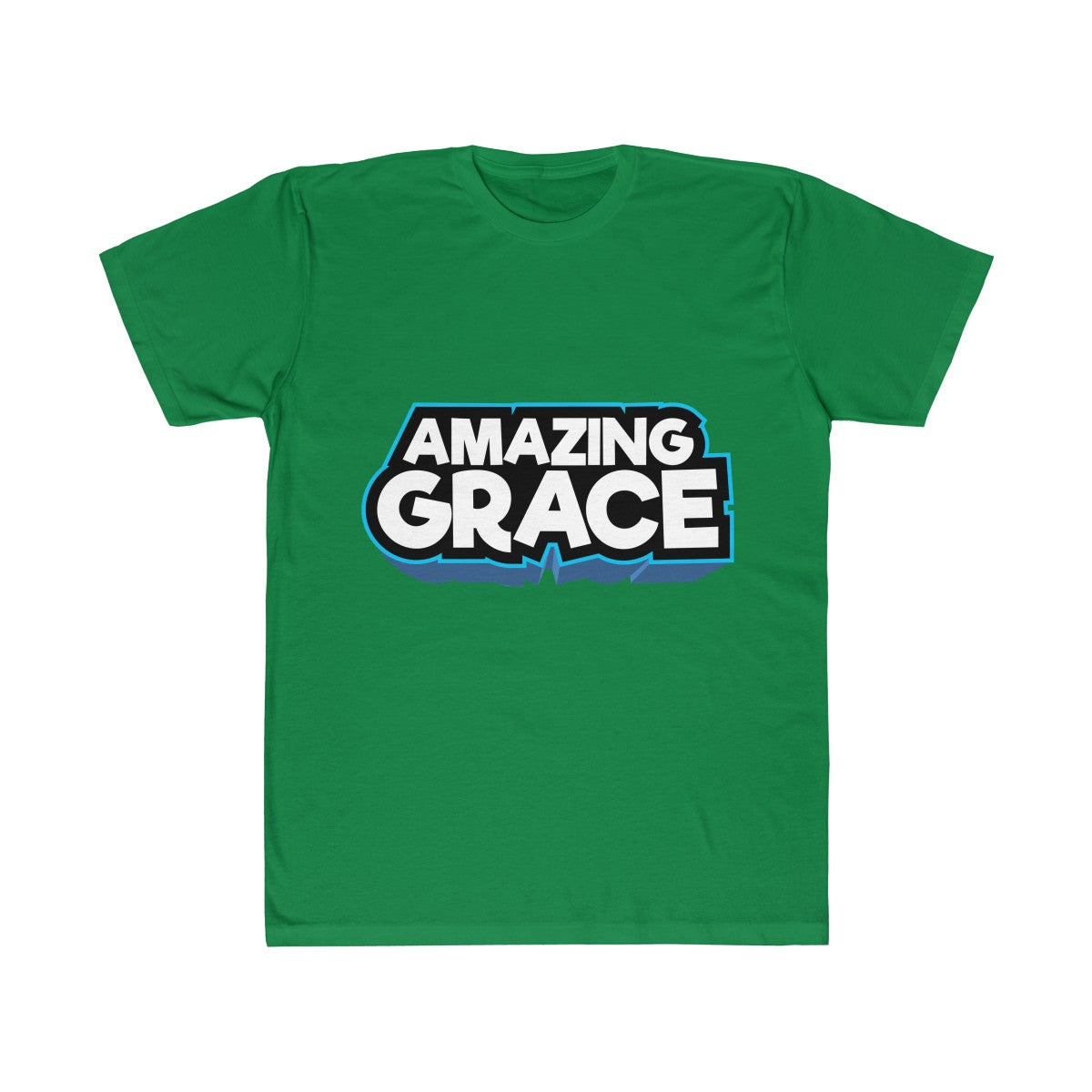 AMAZING GRACE Plain Unisex Fitted Tee
