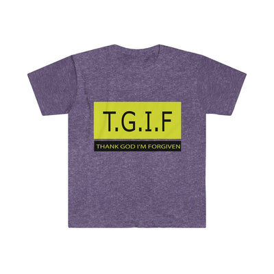 T.G.I.F.Men's Fitted Short Sleeve Tee