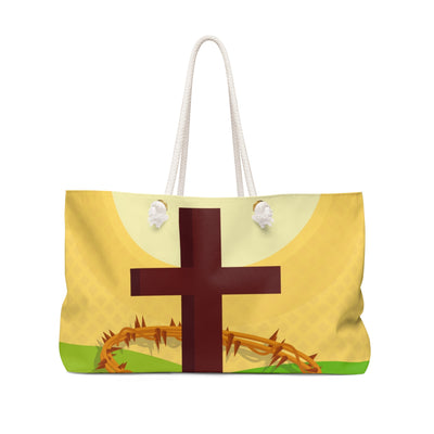Cross with Crown Bag