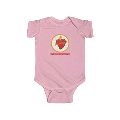 We Place All Infant Fine Jersey Bodysuit