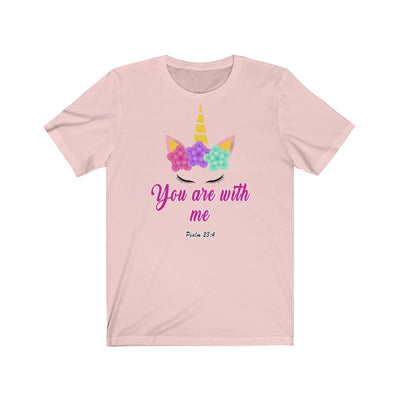 You are with me Unisex Jersey Short Sleeve Tee