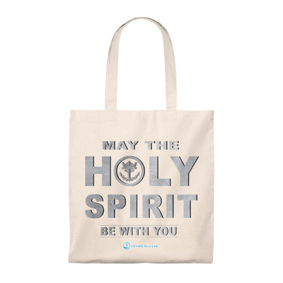 Tote Bag - Vintage - May The Holy Spirit Be With You