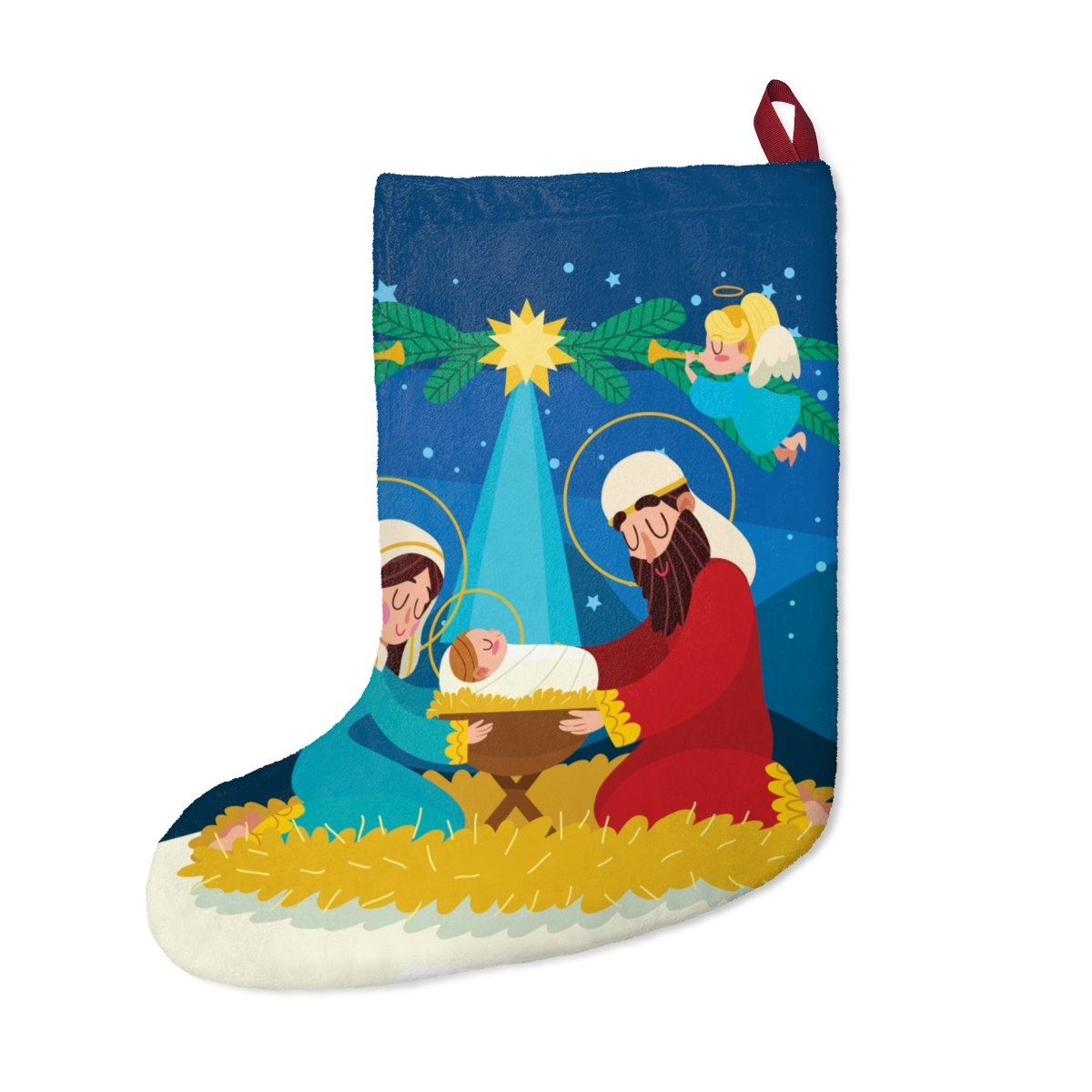 Christmas Stockings - Nativity Scene