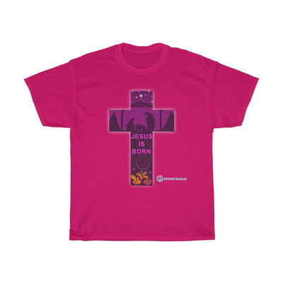 Unisex Heavy Cotton Tee - Jesus is Born