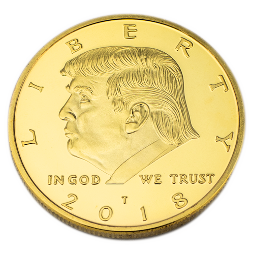 Rare 2018 Donald Trump Presidential Coin