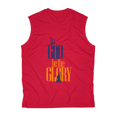 To God be the Glory Men's Sleeveless Performance Tee
