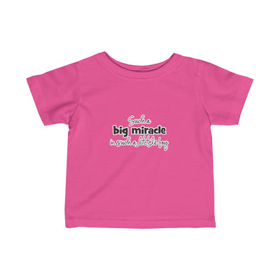 Infant Fine Jersey Tee - Big Miracle