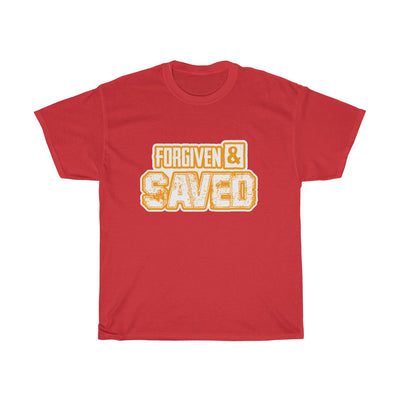Forgiven & Saved Unisex Heavy Cotton Tee