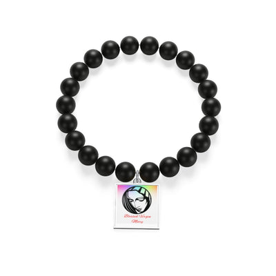 Matte Onyx Bracelet - Blessed Virgin