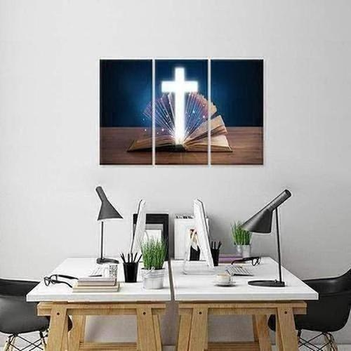 3 Piece -  Religious Spiritual Canvas - The Divine Bazaar