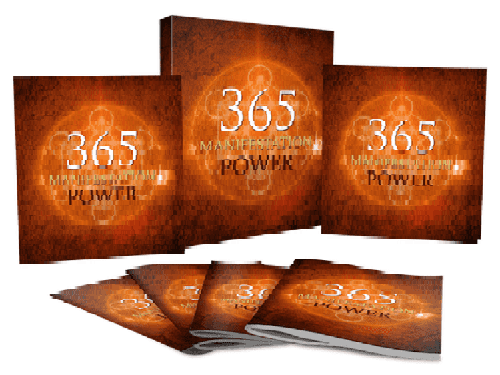 365 Manifestation Power (E-Book) - The Divine Bazaar