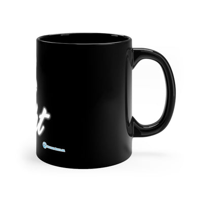 Black mug 11oz - Be The Light