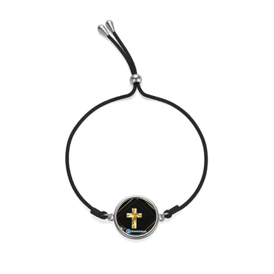 18K Gold Plated Cross Bracelet