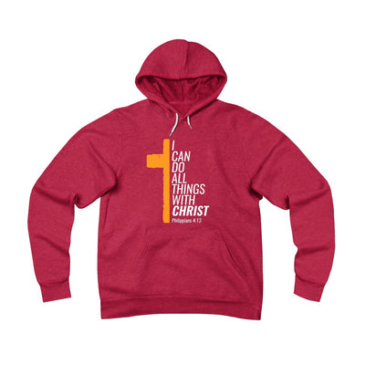 All Things With Christ Unisex Sponge Fleece Pullover Hoodie