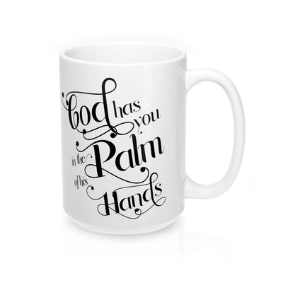 In the Palm of God's Hand Mug