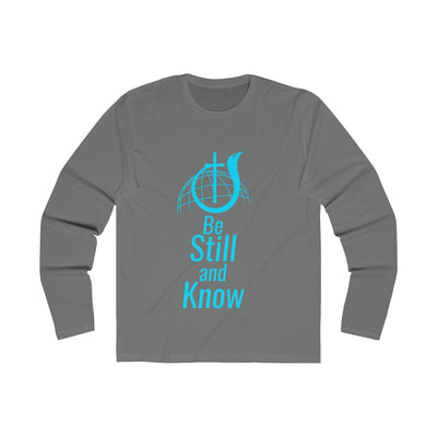 Be Still And Know Men's Long Sleeve Crew Tee